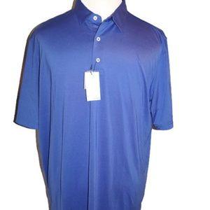 Johnnie-O Birdie Golf Polo Shirt Wicking New NWT